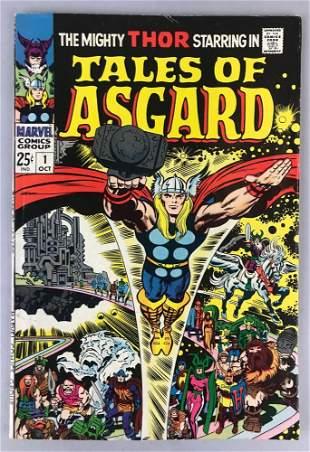 Marvel Comics Tales of Asgard no. 1 comic book