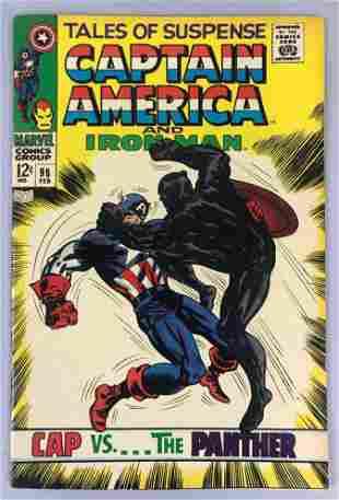 Marvel Comics Tales of Suspense no. 98 comic book