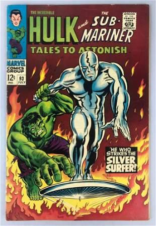 Marvel Comics Tales to Astonish no. 93 comic book