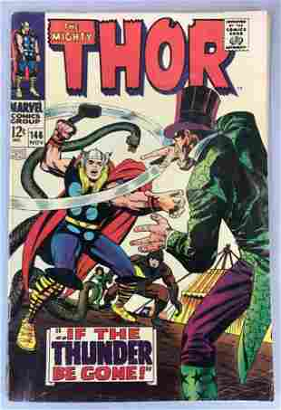 Marvel Comics Thor no. 146 comic book