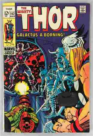 Marvel Comics Thor no. 162 comic book