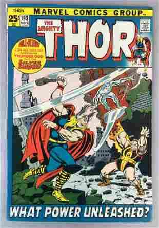 Marvel Comics Thor no. 193 comic book
