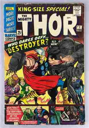 Marvel Comics Thor Specials no.  2 4.5 comic books