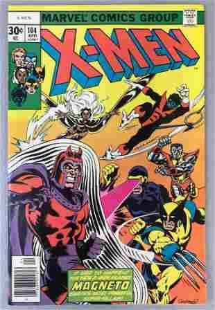 Marvel Comics X-Men no. 104 comic book