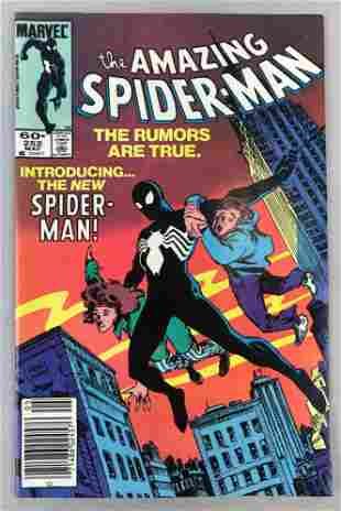 Mavel Comics Amazing Spider-Man no. 252 comic book