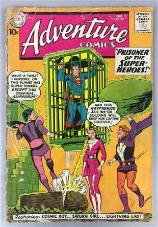 DC Comics Adventure Comics no.  267 comic book