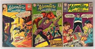 DC Comics Adventure Comics no. 365, 373, 375 comic