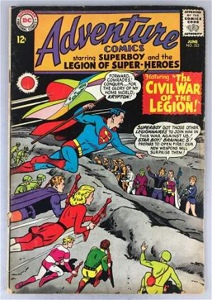 DC Comics Adventure Comics No. 333 Comic Book