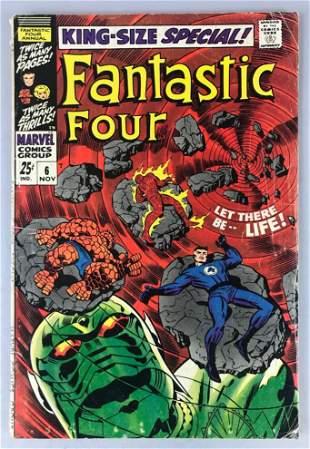 Marvel Comics Fantastic Four King Size Special No. 6