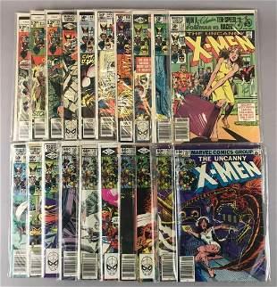 Group of 20 Marvel Comics X-Men Comic Books
