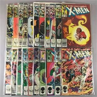 Group of 21 Marvel Comics X-Men Comic Books