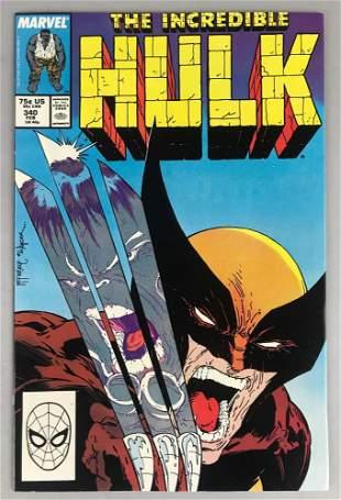Marvel Comics The Incredible Hulk No. 340 Comic Book