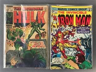 Group of 18 assorted Marvel Comics Comic Books