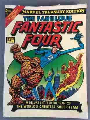 Group of 9 Marvel Treasury Edition Comic Books