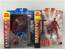 Group of 2 Marvel Select action figures