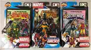Group of 3 Hasbro Marvel Comic Packs