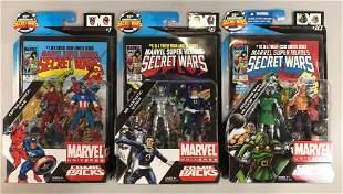 Group of 3 Hasbro Marvel Universe Comic Packs