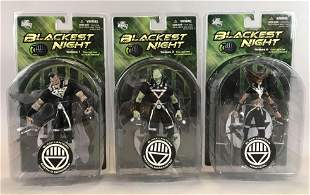 Group of 3 DC Direct Blackest Night action figures