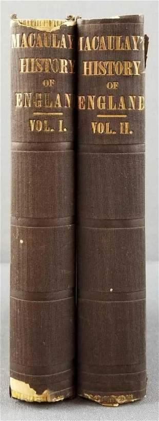 Macaulays History of England, vol I and II