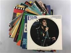 Group of 24 vintage Elvis Presley vinyl LPs
