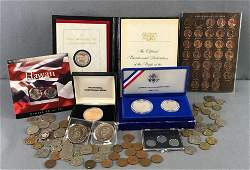 Group of US and Foreign Coin Currency