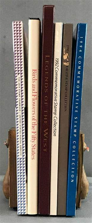 Group of Stamp Collection books