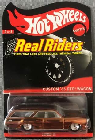Hot Wheels Real Riders Custom 66 GTO Wagon