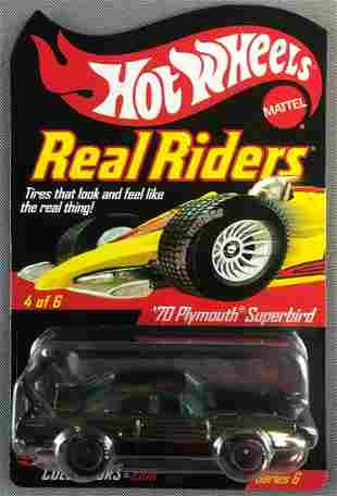 Hot Wheels Real Riders 70 Plymouth Superbird