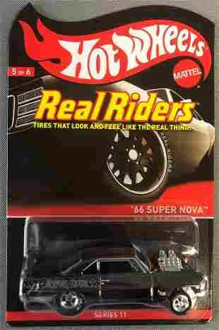 Hot Wheels Real Riders 66 Super Nova