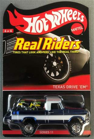 Hot Wheels Real Riders Texas Drive EM
