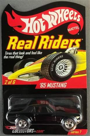 Hot Wheels Real Riders 65 Mustang