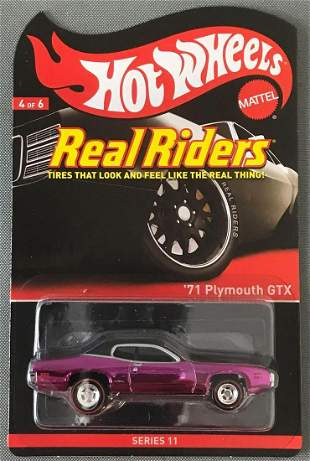 Hot Wheels Real Riders 71 Plymouth GTX