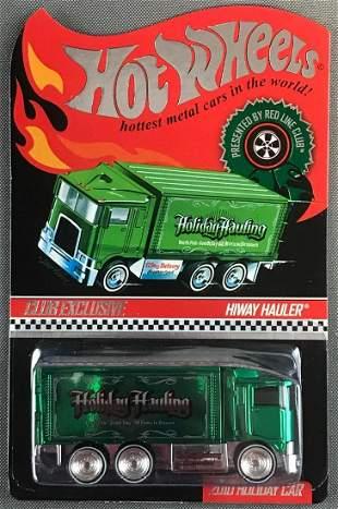Hot Wheels Red Line Club Hiway Hauler