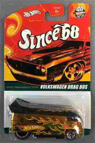Hot Wheels Top 40 Volkswagen Drag Bus