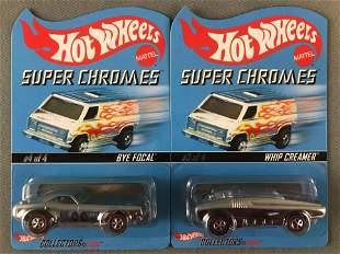 Group of 2 Hot Wheels Super Chromes