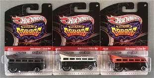 Group of 3 Hot Wheels Phils Garage die-cast vehicles