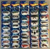 Group of 40 assorted Hot Wheels die-cast vehicles