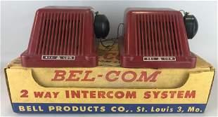 Bel-Com 2-Way Intercom System