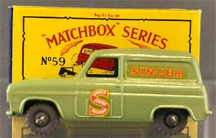 Matchbox No. 59 Ford Singer Van