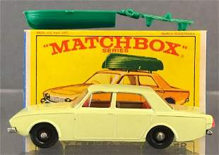 Matchbox No. 45 Ford Corsair with Boat