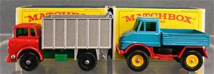 Group of 2 Matchbox die-cast vehicles