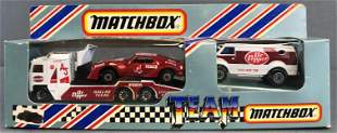 Team Matchbox No. TM-1-2 Dr. Pepper Race Set