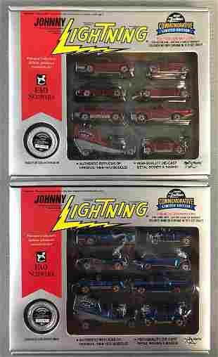 Group of 2 Johnny Lightning FAO Schwarz die-cast