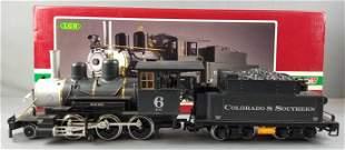 LGB 2019S Colorado & Southern mogul steam