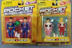 Group of 10 DC Comics Pocket Super Heroes figures