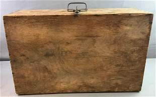 Primitive Wooden Trunk/Case