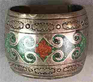 Ornate Metal Bracelet