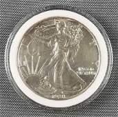 1988 American Eagle Walking Liberty silver dollar coin