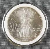 2000 American Eagle Walking Liberty silver dollar coin