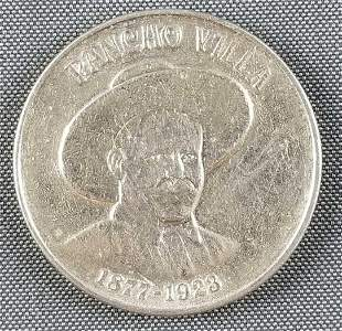 Pancho Villa commemorative 2 oz silver coin